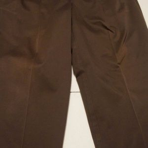 Pants - Mens Tommy Hilfiger Cotton DK Brown Casual Pants